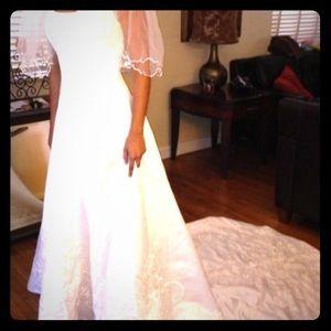 David's Bridal Beautiful Wedding Gown